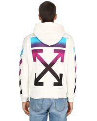 Off-White c/o Virgil Abloh - Gradient Arrows Zip-up Sweatshirt Hoodie - Lyst