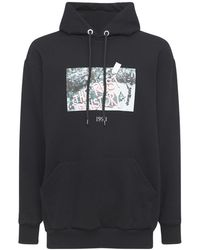 Throwback. The Rest Is History Cotton Hoodie - Black
