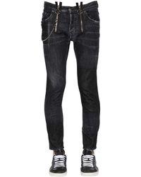 DSquared² - 16cm Skater コットンデニムジーンズ - Lyst