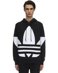 adidas Originals - Big Trefoil Jersey Sweatshirt Hoodie - Lyst