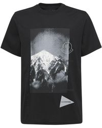 Moncler Genius Moncler 1952 And Wander Tシャツ - ブラック