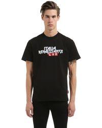 """Italia Independent T-shirt Aus Baumwolle Mit Logo """"lvr Editions"""" - Schwarz"""