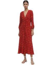 RIXO London Katie Dress - Red