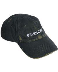 Balenciaga Vintage コットンデニムキャップ - ブルー