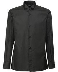 Balmain Футболка Из Хлопка Tailoring Fit Plastron - Черный