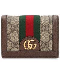 Gucci Geldbörse SMALL OPHIDIA GG SUPREME - Braun