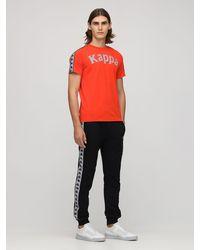 Kappa ジャージーtシャツ - オレンジ