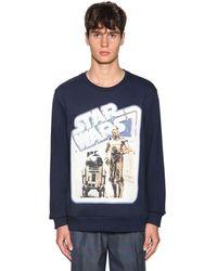 Etro Star Wars Print Sweatshirt - Blue
