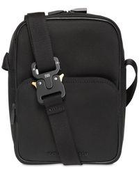 1017 ALYX 9SM Tech Vertical Camera Bag W/ Buckle - Black
