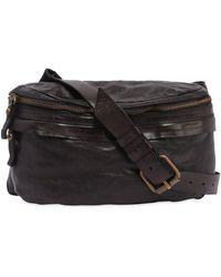 Campomaggi - Vintage Effect Leather Belt Pack - Lyst