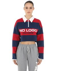 D-ANTIDOTE - Polo Cropped - Lyst