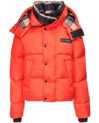 DSquared² Куртка С Капюшоном - Оранжевый