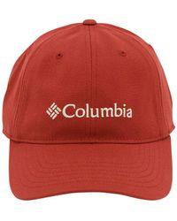 Columbia Lodge Baseball Hat - Red