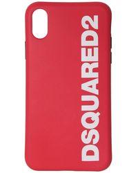 DSquared² Iphone X/xs ラバーケース - レッド