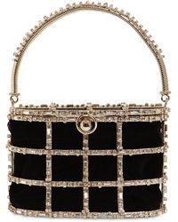 Rosantica Vestale Embellished Bucket Bag - Metallic