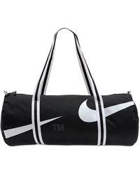 Nike Heritage Swoosh ダッフルバッグ - ブラック