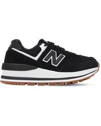 New Balance 574 Wedge - Black