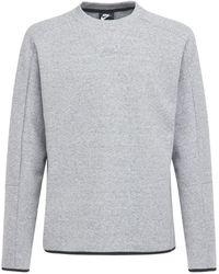 Nike Sweatshirt Aus Technofleece - Grau