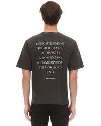 "Ksubi T-shirt Aus Baumwolljersey ""north Of Nirvana"" - Schwarz"