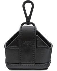 Alexander McQueen Кожаный Чехол Для Airpods Pro - Черный