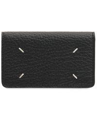 Maison Margiela Бумажник Из Тиснёной Кожи - Черный