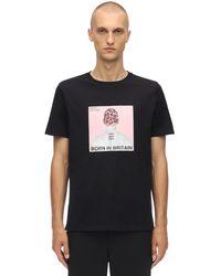 Neil Barrett - Head コットンジャージーtシャツ - Lyst