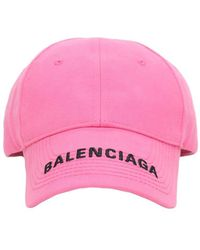 Balenciaga コットンキャップ - ピンク