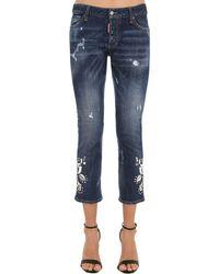 DSquared² Jeans In Denim Di Cotone - Blu