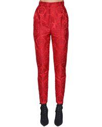 Dolce & Gabbana - Angels Jacquard Trousers - Lyst
