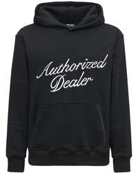 Just Don Authorized Dealer フーディー - ブラック