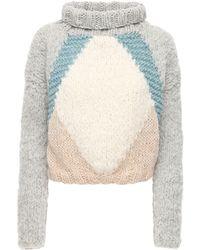 Gudrun & Gudrun Atlas Wool & Alpaca Sweater - Multicolour