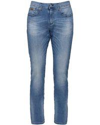 Armani Exchange 10.5oz Medium Wash Jeans - Blue
