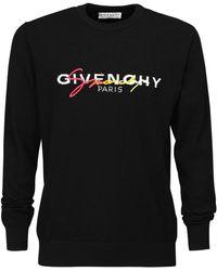Givenchy Толстовка С Вышитым Логотипом - Черный
