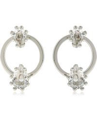 DSquared² - Jewelled Hoop Earrings - Lyst