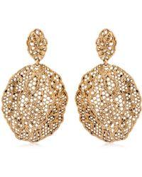 Aurelie Bidermann - Lace Earrings - Lyst