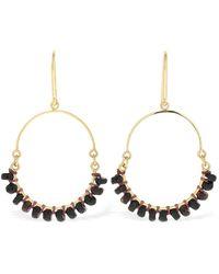 Isabel Marant Earrings W/ Horn Charms - Mettallic