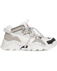KENZO Chunky-sneakers Aus Leder - Grau