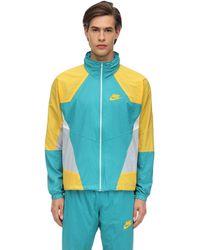 Nike Nsw Re-issue Hd ナイロンジャケット - ブルー
