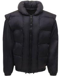 Isabel Marant Dalo Nylon Puffer Jacket - Black
