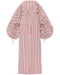 Rosie Assoulin - コットンキャンバスドレス - Lyst