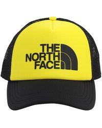 The North Face Tnf Logo Trucker Hat - Yellow