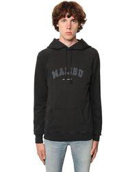 Saint Laurent Худи Malibu - Черный