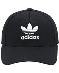 """adidas Originals Capello Baseball """"trefoil"""" In Cotone - Nero"""