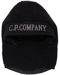 C.P. Company メリノウールバラクラヴァ - ブラック