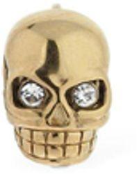 Northskull Legacy Skull シングルスタッドピアス - マルチカラー