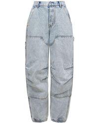 Alexander Wang Jeans Carpenter De Algodón - Azul