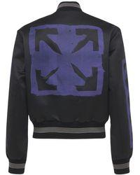 Off-White c/o Virgil Abloh Lvr Exclusive Marker Varsity Jacket - Многоцветный