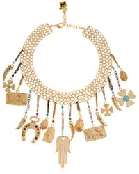 Rosantica - Malocchio Choker W/ Lucky Charms - Lyst