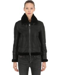 """Schott Nyc - """"Giacca Aviator """"""""lcw 1257"""""""" In Pelle"""" - Lyst"""