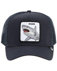Goorin Bros Dunnah Shark Trucker Hat W/ Patch - Blue